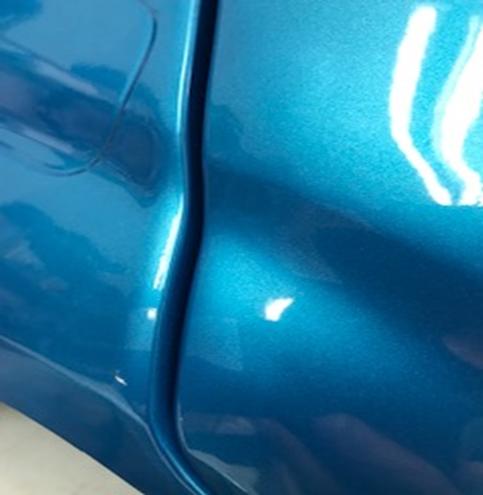 Inforchess - Coche electrico infantil BMW X6 2 plazas Azul Metalizado con luces LED 10