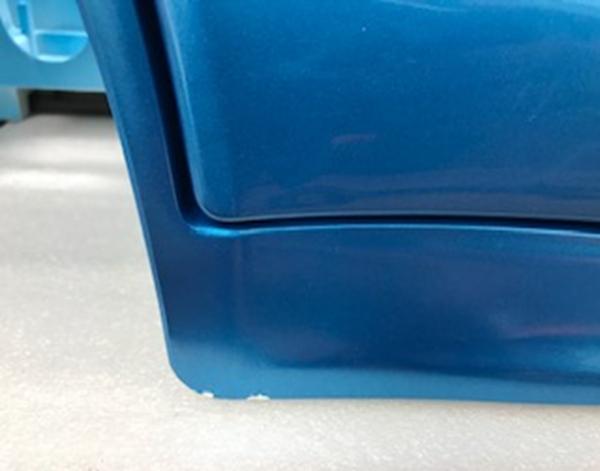 Inforchess - Coche electrico infantil BMW X6 2 plazas Azul Metalizado con luces LED 11