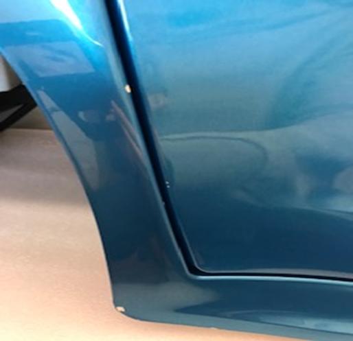 Inforchess - Coche electrico infantil BMW X6 2 plazas Azul Metalizado con luces LED 12