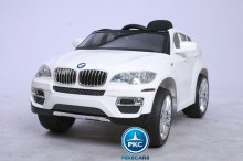 BMW X6 BLANCO LATERAL IZQUIERDO
