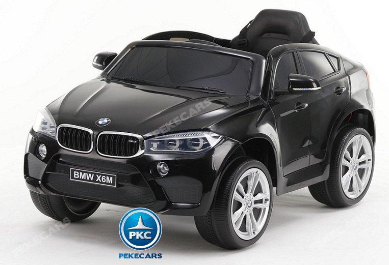 Coche electrico para niños BMW X6M Negro Metalizado vista principal