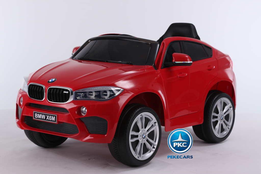 Coche electrico para niños BMW X6M Rojo vista principal