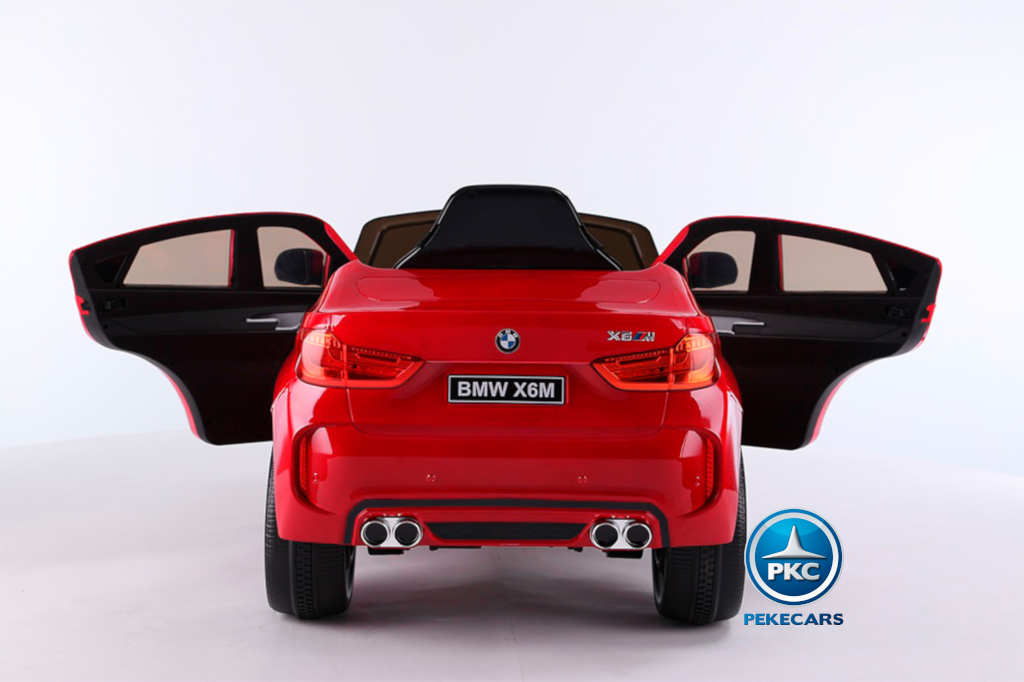 Coche electrico para niños BMW X6M Rojo
