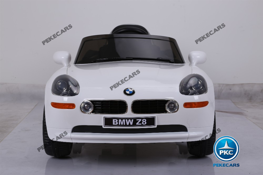 Bmw z8 blanco frontal