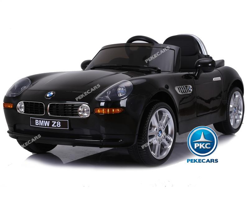 Inforchess - Coche eléctrico para niños BMW Z8 12V Negro