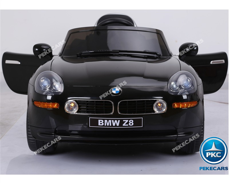 Inforchess - Coche eléctrico para niños BMW Z8 12V Negro 6