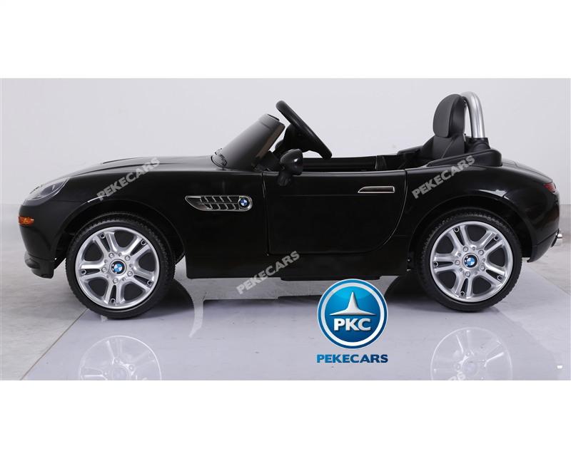Inforchess - Coche eléctrico para niños BMW Z8 12V Negro 5