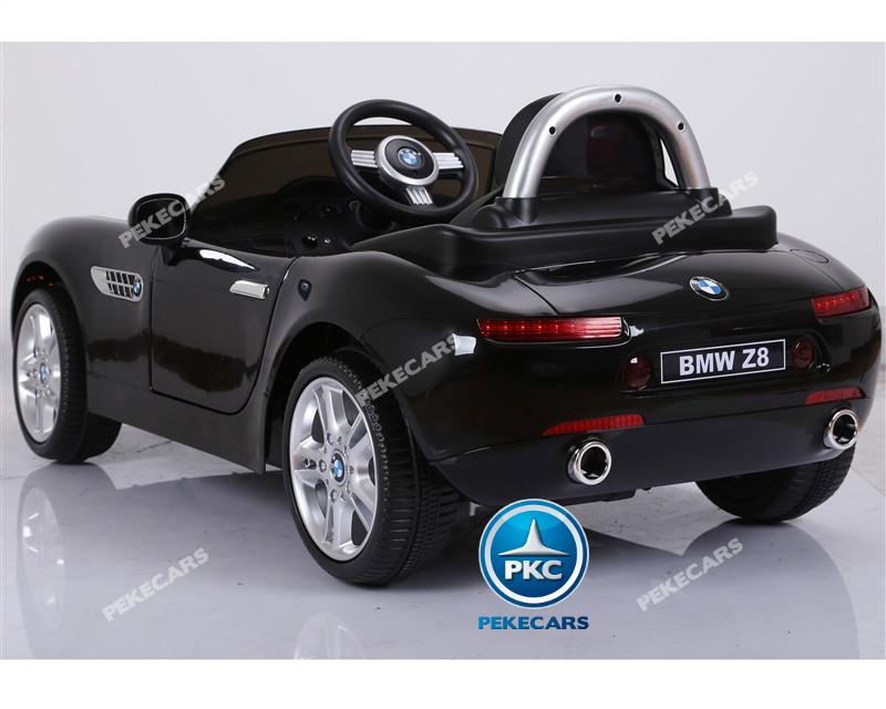 Inforchess - Coche eléctrico para niños BMW Z8 12V Negro 4