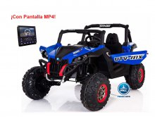Buggy UTV 12V MP4 Azul