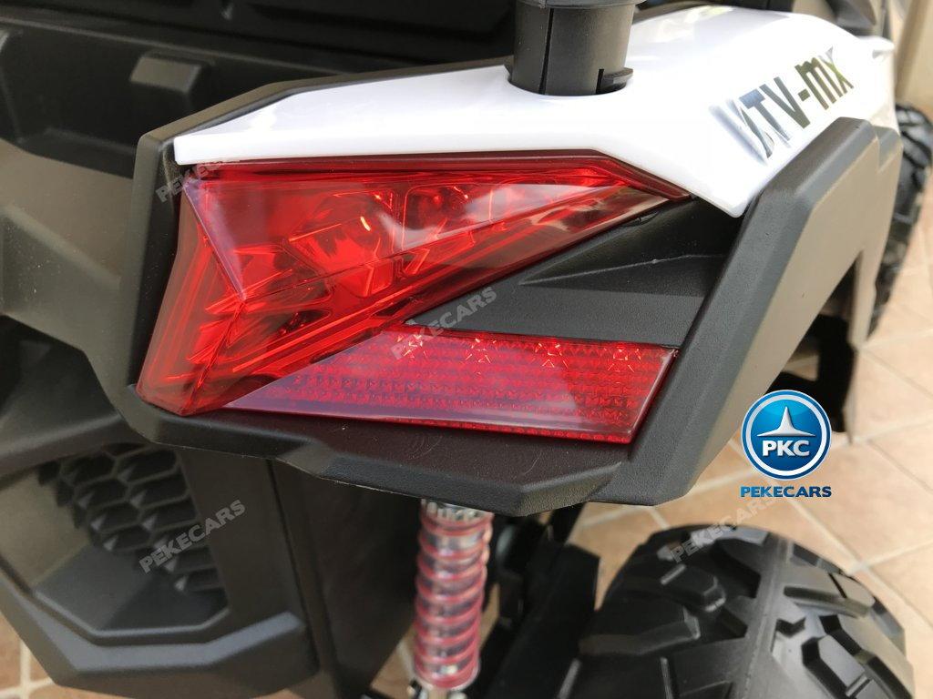 Buggy UTV 12V MP4 Blanco