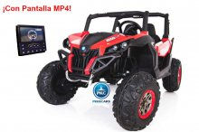 Buggy UTV 12V MP4 Rojo