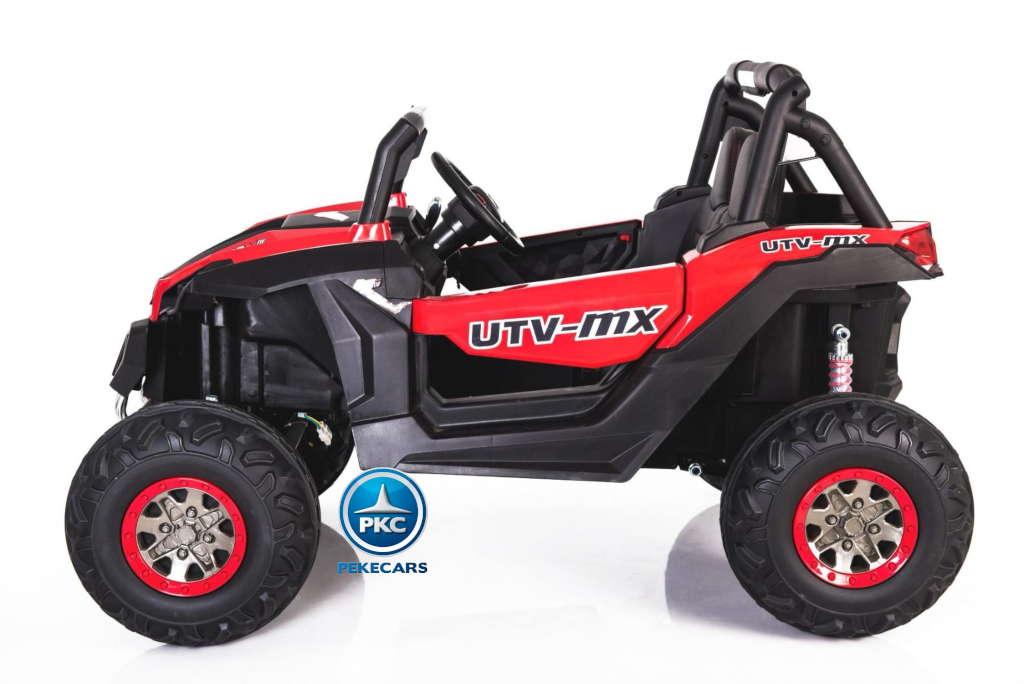 Buggy UTV 12V MP4 Rojo