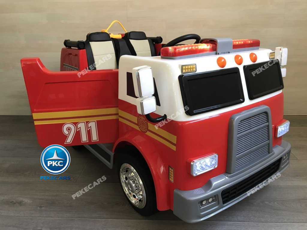 CAMION BOMBEROS LATERAL DERECHO width=