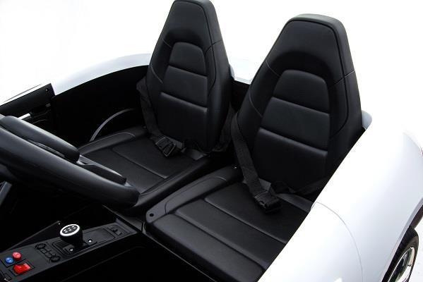 Deportivo Pekecars XL 24V Blanco - asientos
