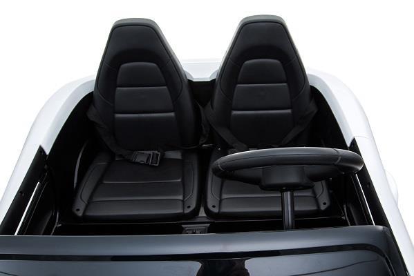 Deportivo Pekecars XL 24V Blanco - asientos delante