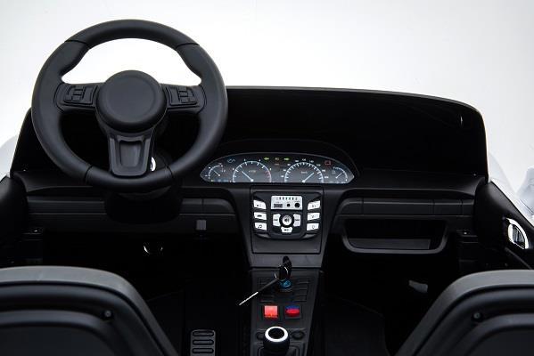 Deportivo Pekecars XL 24V Blanco - volante