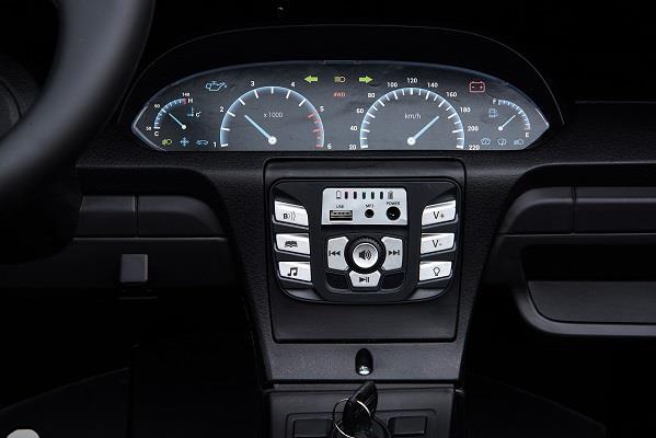 Deportivo Pekecars XL 24V Blanco - panel