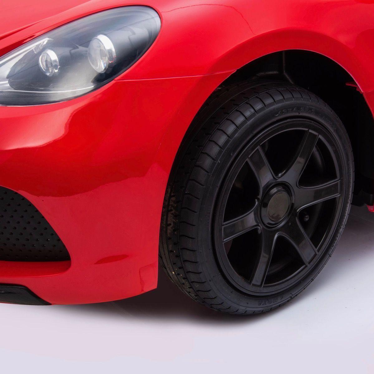 Deportivo Pekecars XL 24V Rojo - rueda