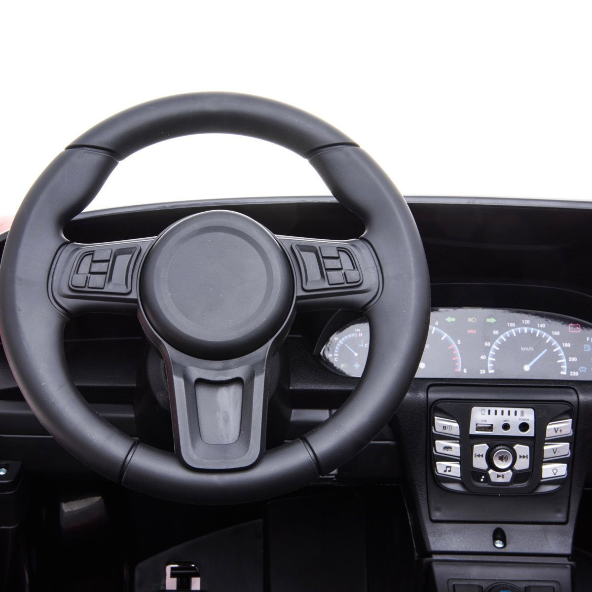 Deportivo Pekecars XL 24V Rojo - volante