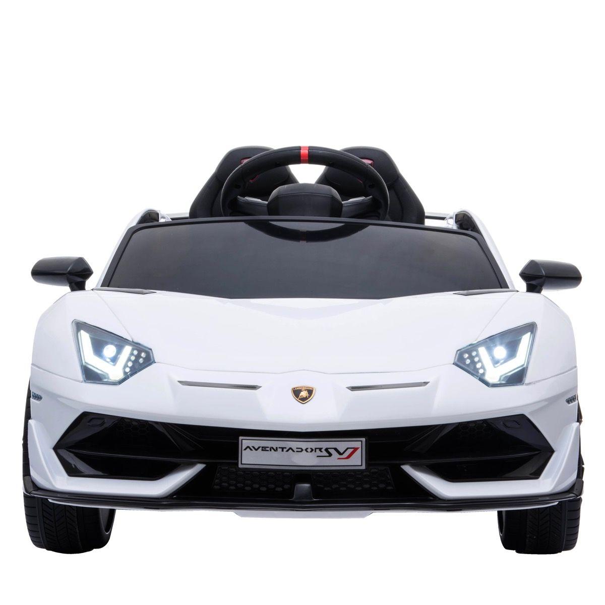 Lamborghini Aventador 12V Blanco Pintado
