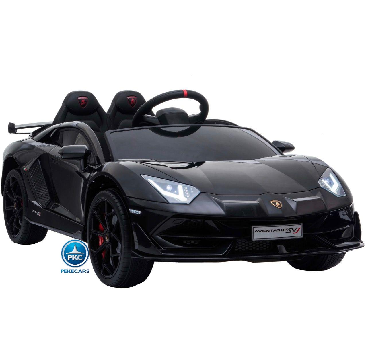 Lamborghini Aventador 12V Negro Pintado