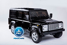 LAND ROVER DEFENDER NEGRO LATERAL DERECHO
