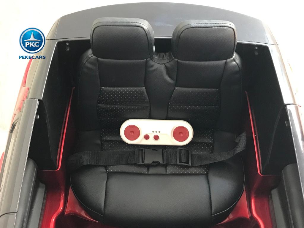 Coche electrico infantil Land Rover Discovery Rojo Metalizado