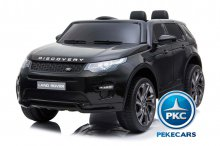 Coche electrico infantil Land Rover Discovery Negro