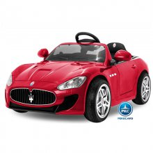 Maserati gran turismo para niños 12V 2.4G Rojo