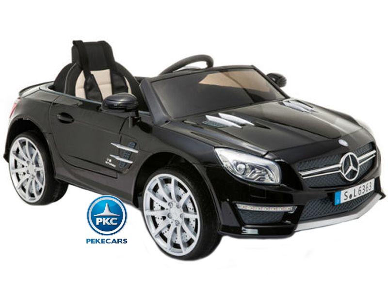 Mercedes SL63 12V Negro Metalizado
