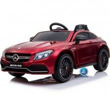 Coche electrico para niños Mercedes C63 Rojo Metalizado