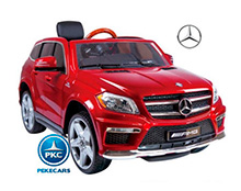 MERCEDES GL63 ROJO LATERAL DERECHO