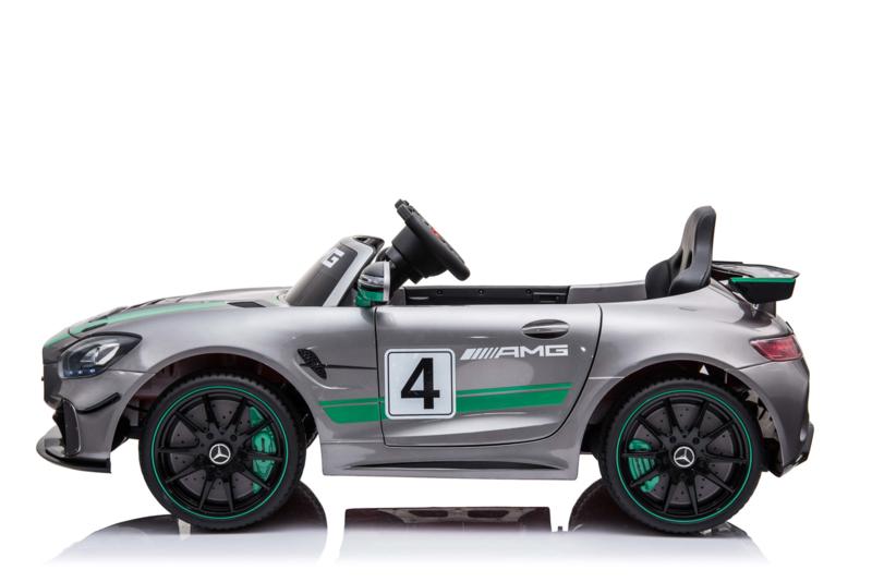 Mercedes GT4 12V Plata Metalizado