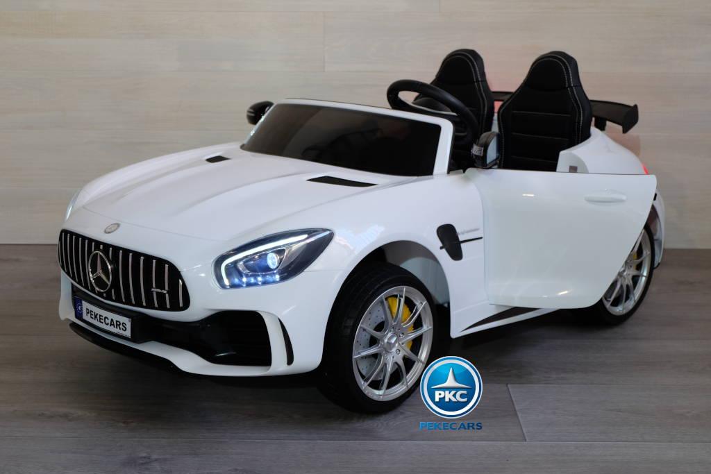 Mercedes gtr 2 plazas blanco 12v-000