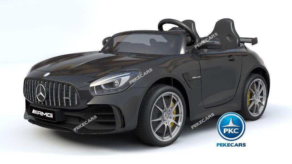 Mercedes gtr 2 plazas negro 12v width=
