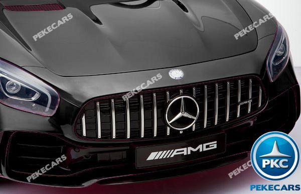 Mercedes gtr 2 plazas negro 12v-001