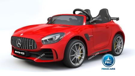 Mercedes gtr 2 plazas rojo 12v-00