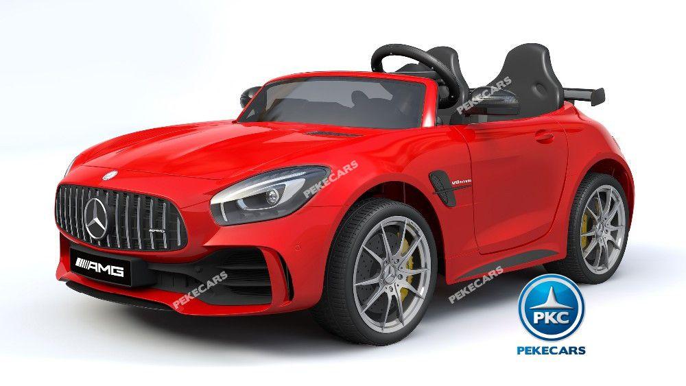 Mercedes gtr 2 plazas rojo 12v