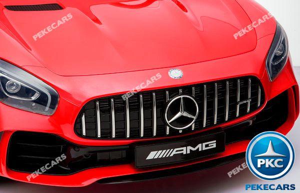 Mercedes gtr 2 plazas rojo 12v-001