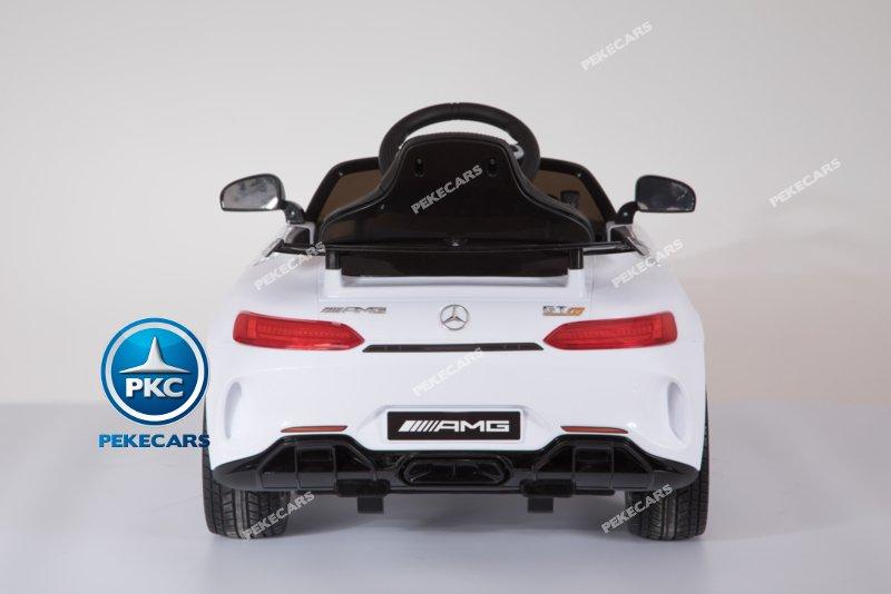 Mercedes gtr Blanco Inforchess Vista Trasera