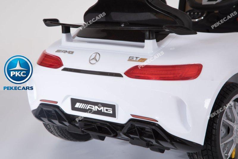 Mercedes gtr Blanco Inforchess Detalle Trasero