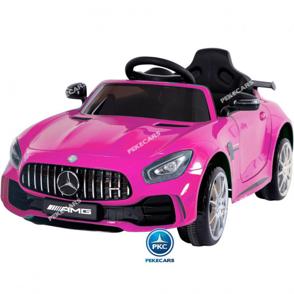 mercedes gtr rosa 12v-000