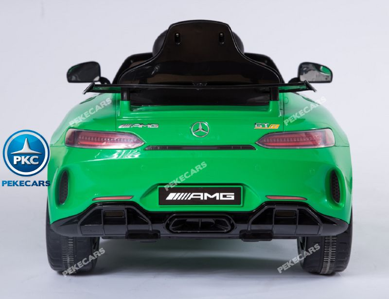 Mercedes gtr verde Inforchess