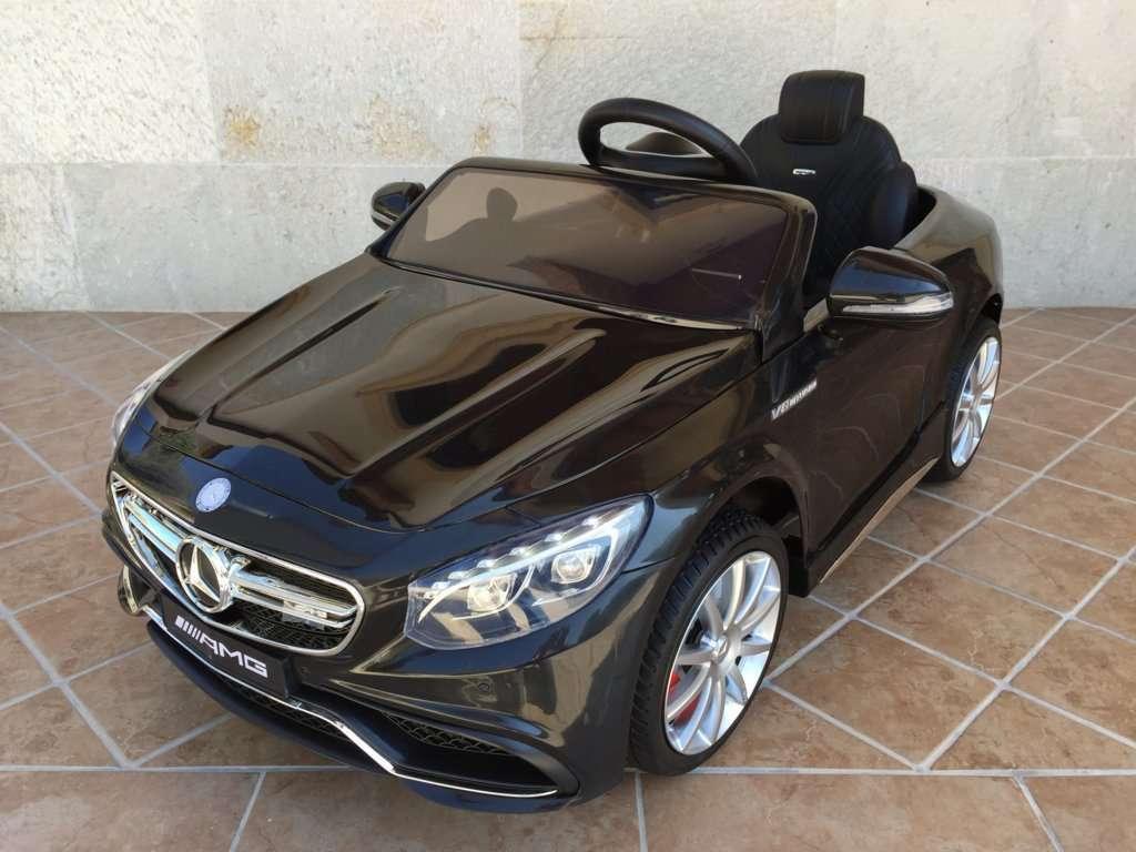 Inforcehss Outlet - Coche electrico para niños Mercedes S63 Negro