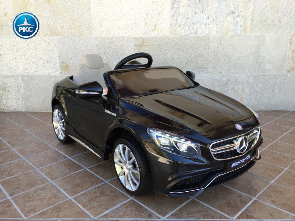 Inforcehss Outlet - Coche electrico para niños Mercedes S63 Negro 16