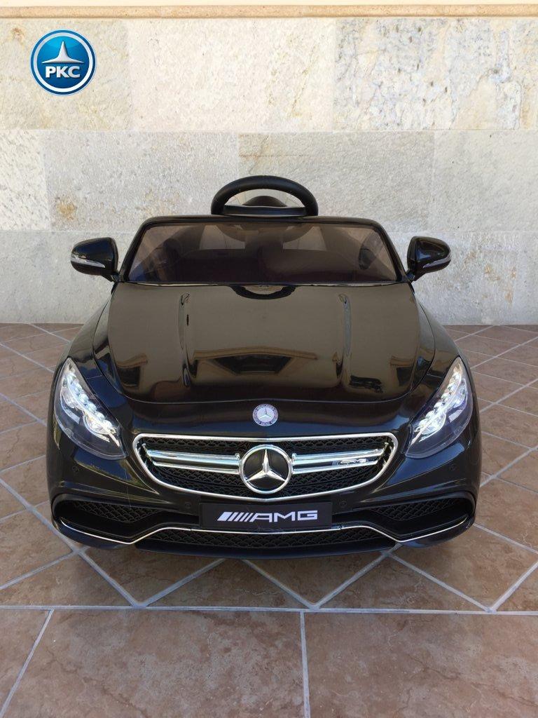 Inforcehss Outlet - Coche electrico para niños Mercedes S63 Negro 15