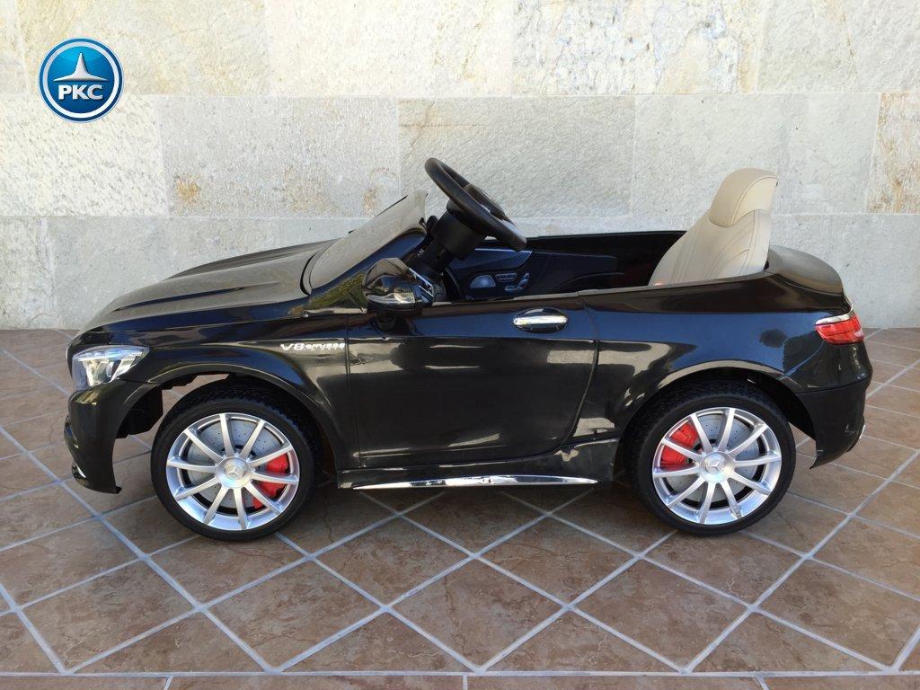 Inforcehss Outlet - Coche electrico para niños Mercedes S63 Negro 14