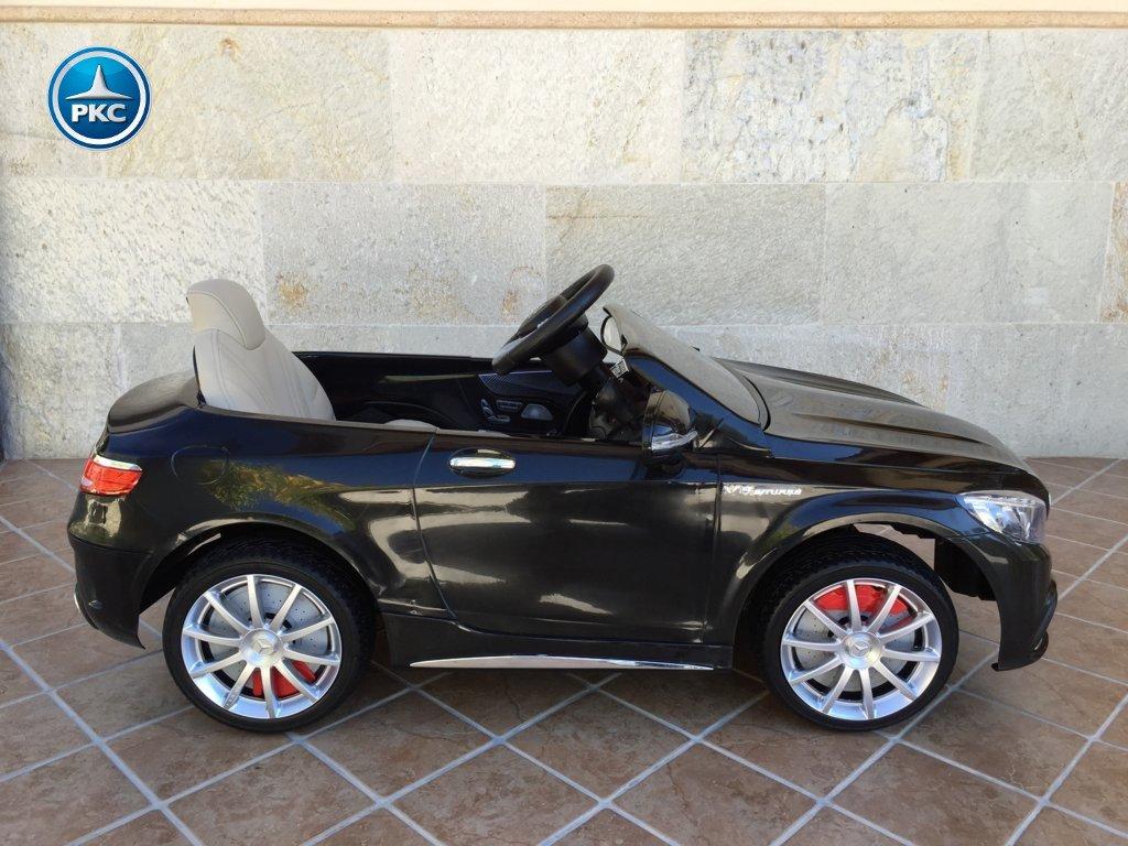 Inforcehss Outlet - Coche electrico para niños Mercedes S63 Negro 13