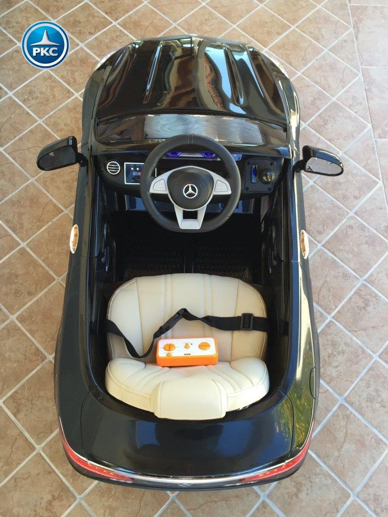 Inforcehss Outlet - Coche electrico para niños Mercedes S63 Negro 11