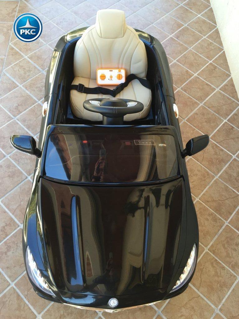 Inforcehss Outlet - Coche electrico para niños Mercedes S63 Negro 10